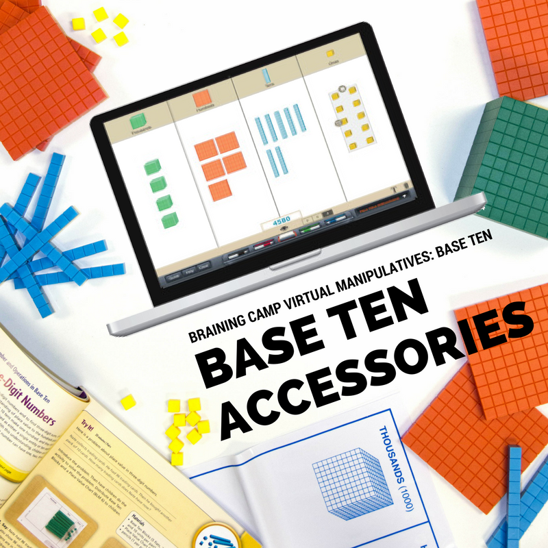 Go beyond the basic base ten blocks and add these accessories to ...