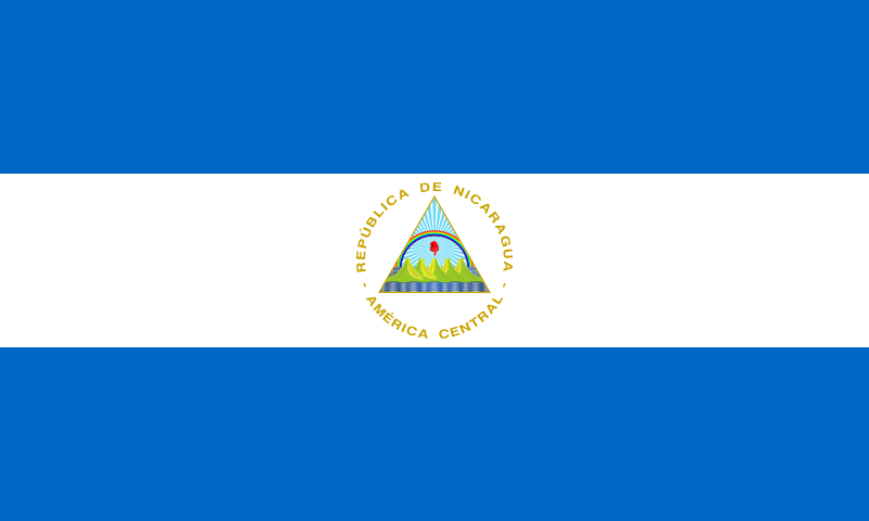 File Flag Of Nicaragua Svg Wikipedia The Free Encyclopedia Nicaragua Flag Flags Of The World Flag