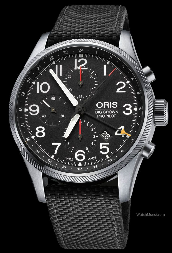 Oris Big Crown Propilot Chronograph Gmt Modern Cockpit Watch Loaded With Oris Watches Watches For Men Vintage Watches