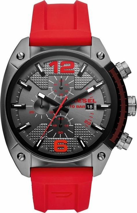 2a4ccb18d57 ...  outfit  fashion  style  online  DIESEL Herren Chronograph OVERFLOW