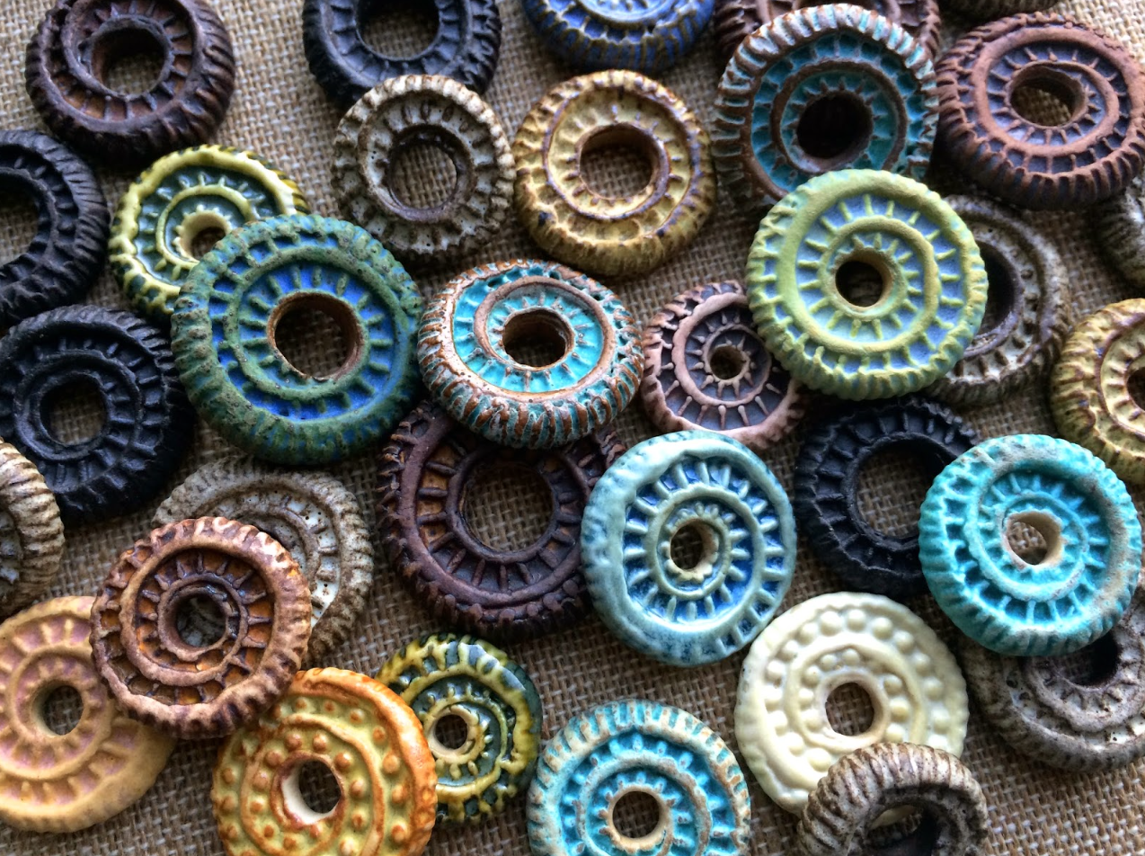 Art Jewelry Elements: From the Ceramic Bead Maker's Studio, Part I: Clay & Clay Bodies