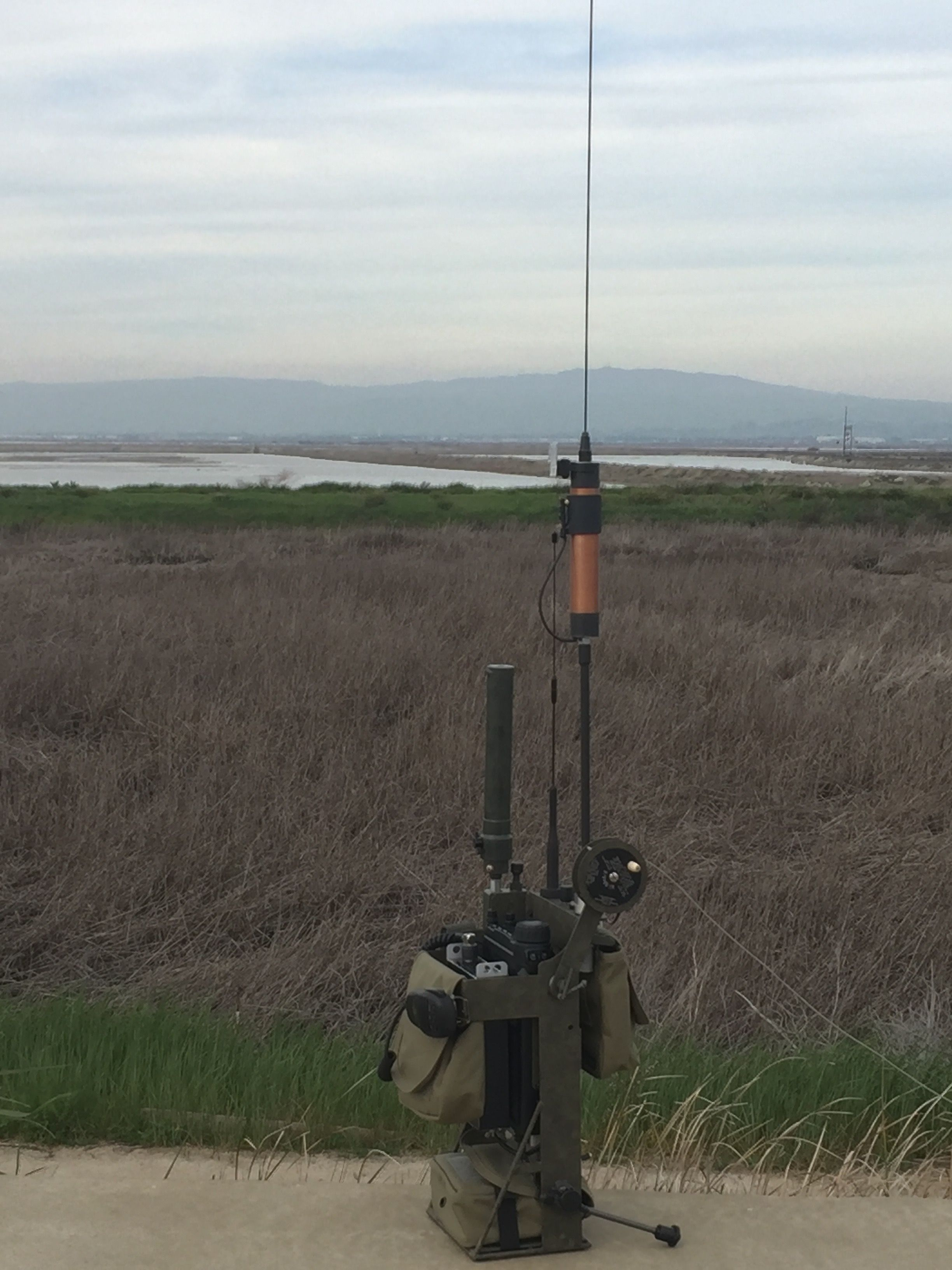 HF ManPack By N6VOA | N6VOA / UTOC | Ham radio antenna, Ham