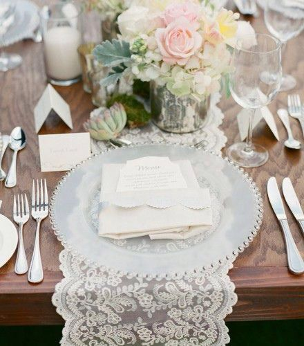 Mesa chic boda