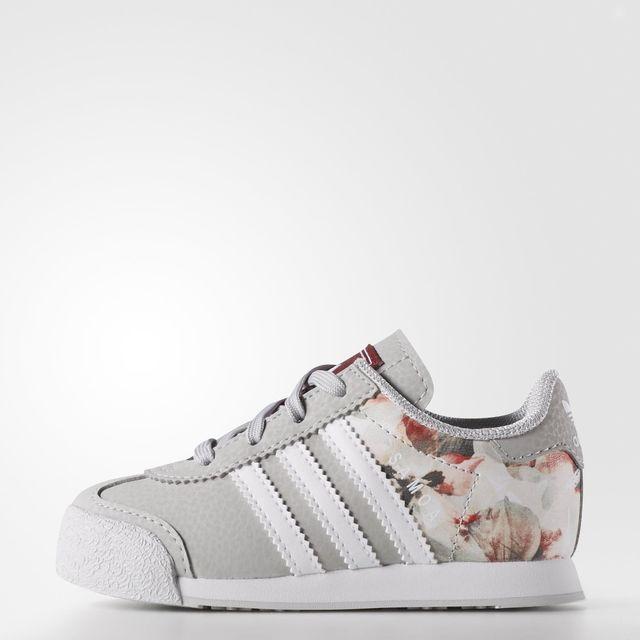 adidas Samoa Shoes Grey | adidas US | Baby girl shoes