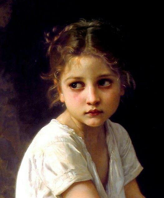 WIP - portrait, Bouguereau crop..