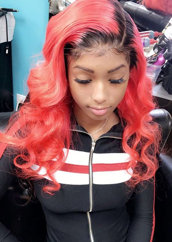 Pin By A U N J A N A E 💋 On Hair Curly Hair Styles Wig