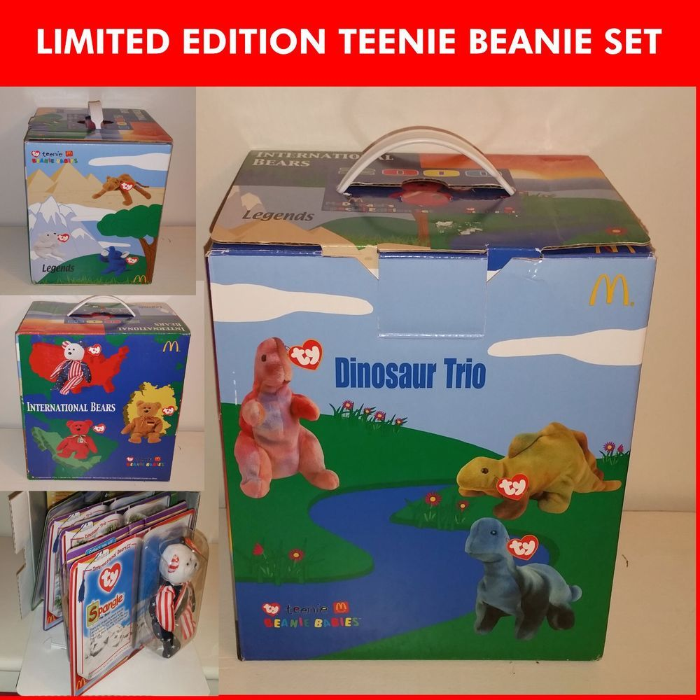 RARE -> TY Teenie Beanie Baby McDonalds Limited Edition Collector