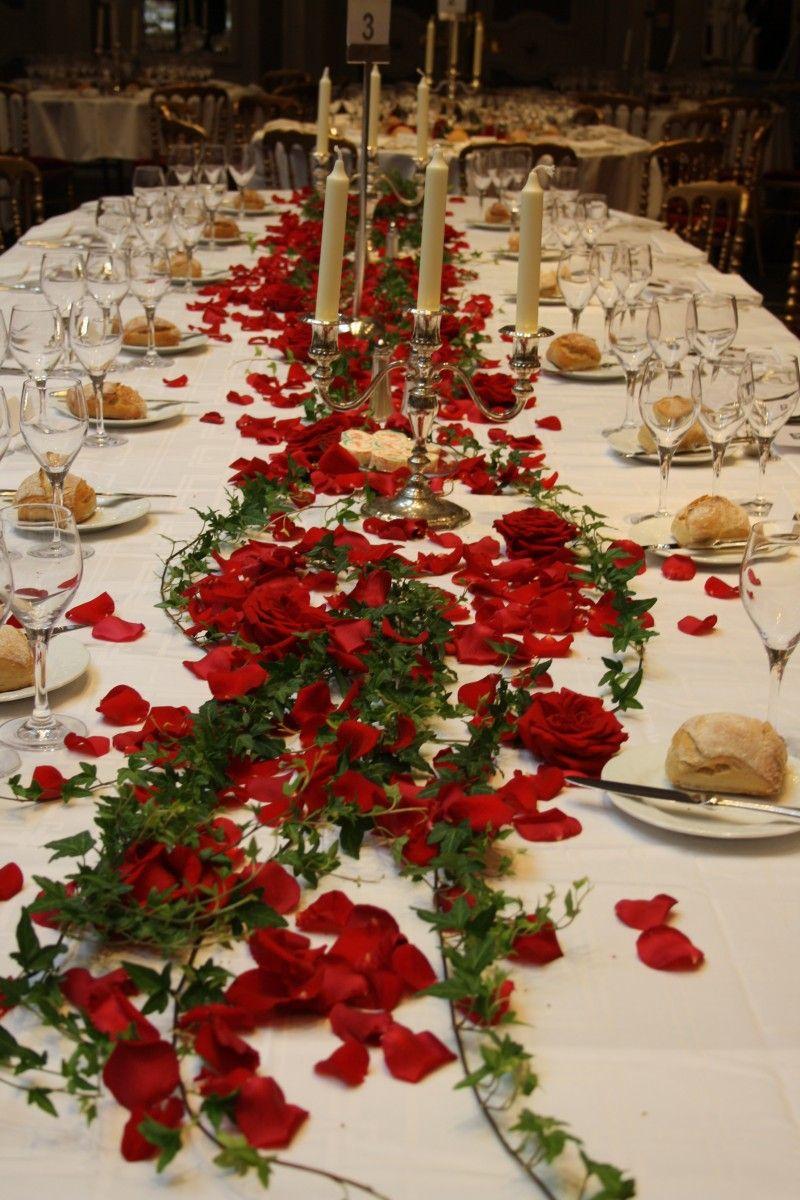 Mariage rouge passion à Paris