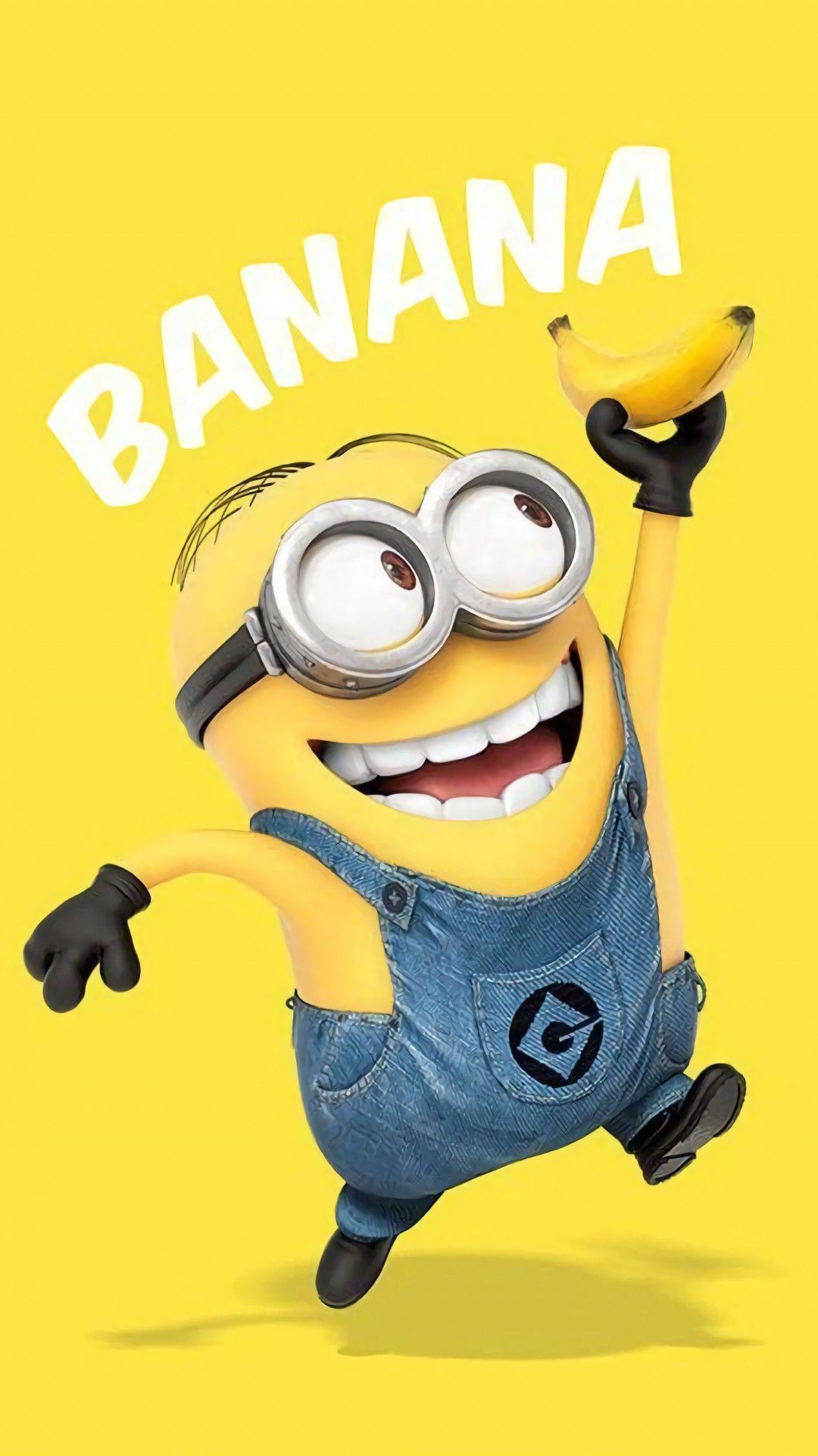 Pin By Audrey Martin On Minions Minions Wallpaper Minion Banana Minions Funny