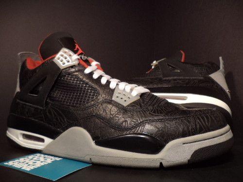 Image: $13,000 Air Jordan 4 Laser Sample