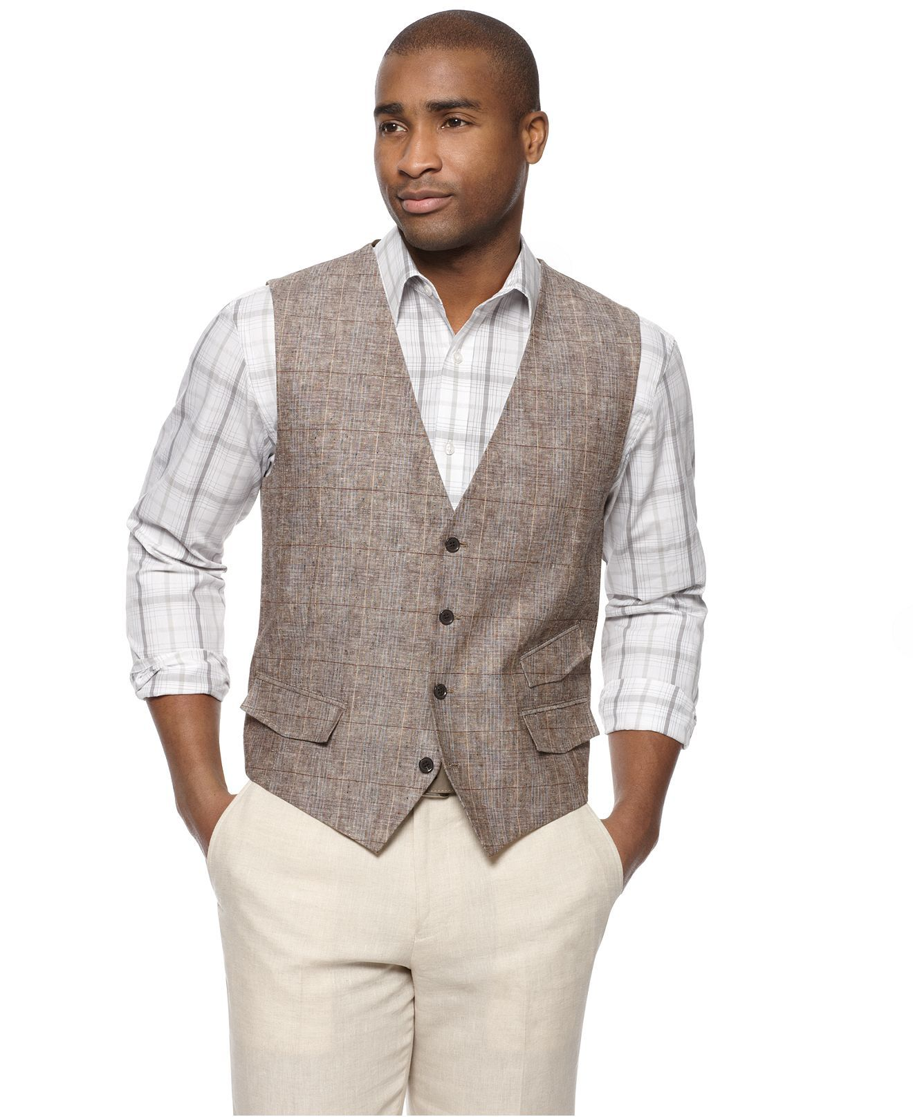 Love this vest, I think it look great with khakis and a ...