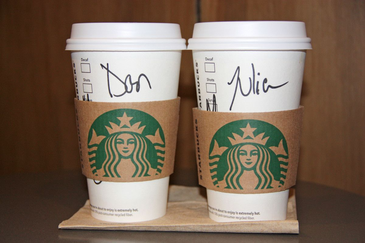4 Billion Starbucks To Go Cups Thrown Away Each Year