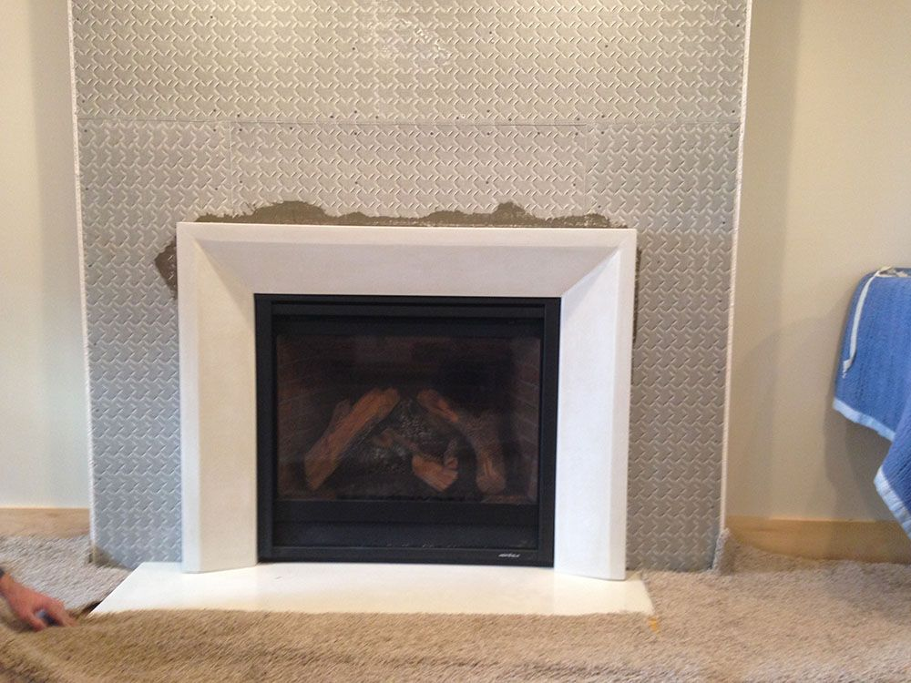 Concrete and Fireplace surrounds