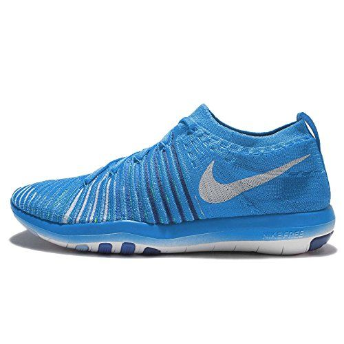 nike transform blue running shoes