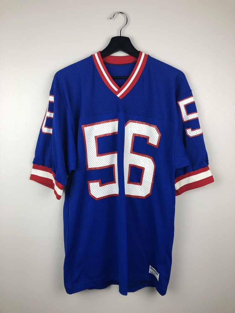 online store c5ca4 f5100 Details about VTG 80S 56 LAWRENCE TAYLOR NEW YORK GIANTS ...