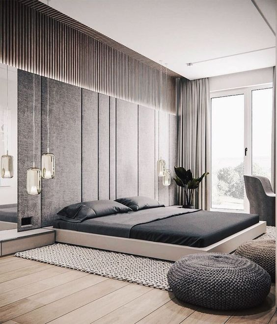 35 Nordic Style Home Design Ideas That You Will Love Modern Master Bedroom Design