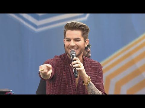 Adam Lambert Whataya Want From Me Good Morning America