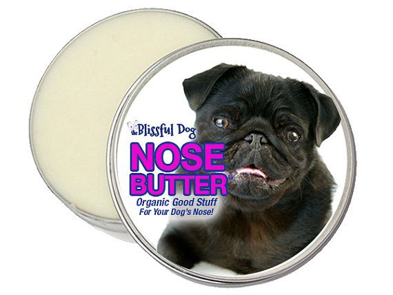 Pug Nose Butter Handcrafted All Natural Balm For Crusty Or Dry