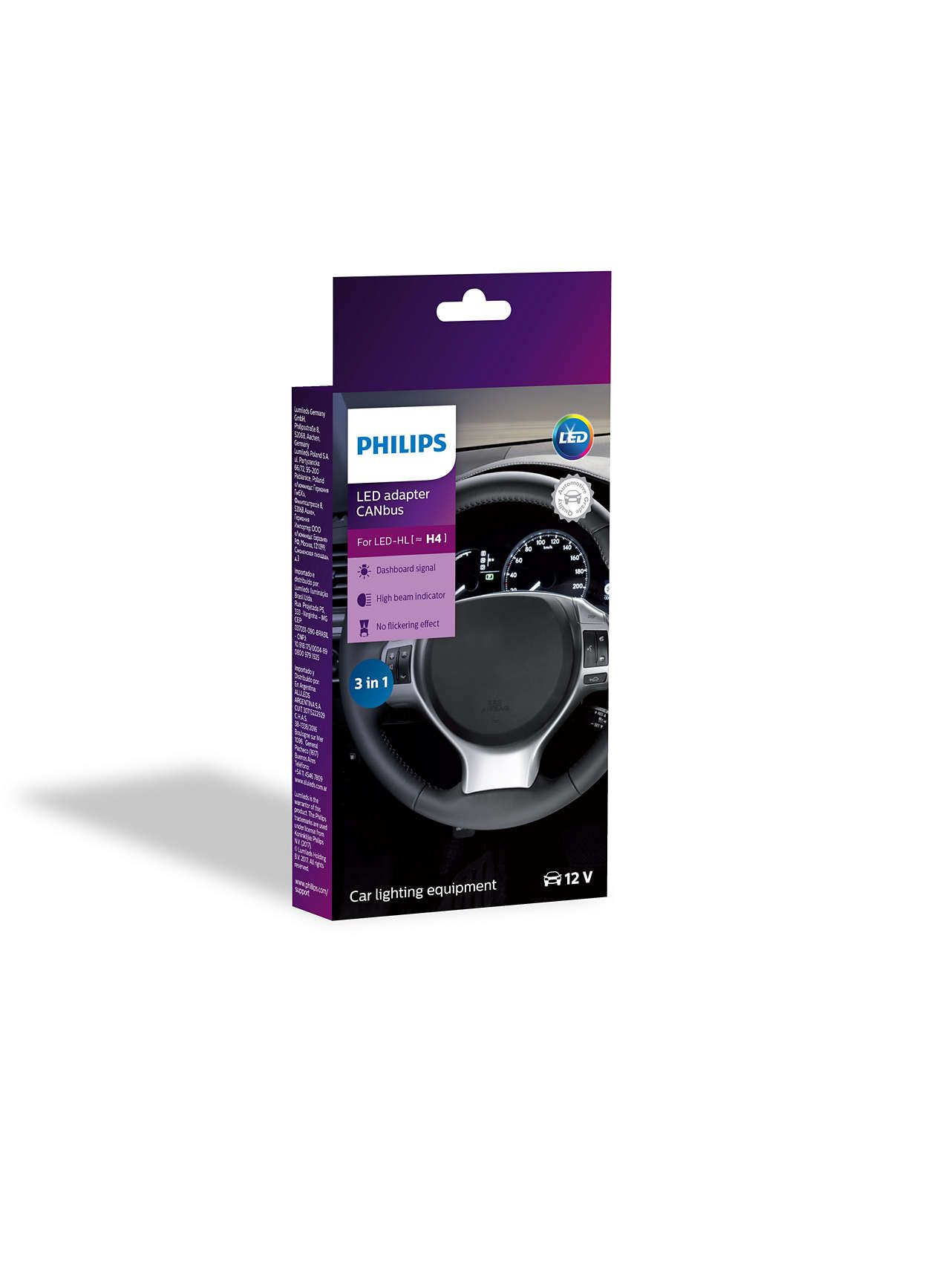 Philips Led Canbus Canceller Adapter H4 10w Philips Led Philips Led