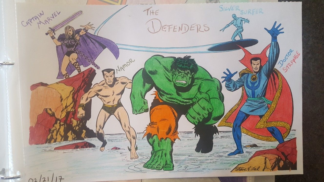 The Defenders Marvel Color Your Own Coloring Page Marvel Coloring Defenders Marvel Coloring Pages