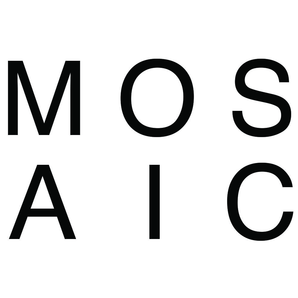 Mosaic Church. Simple Clean. A bit different. Maybe too