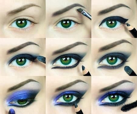 you can use any color instead of purple makeup  makeup