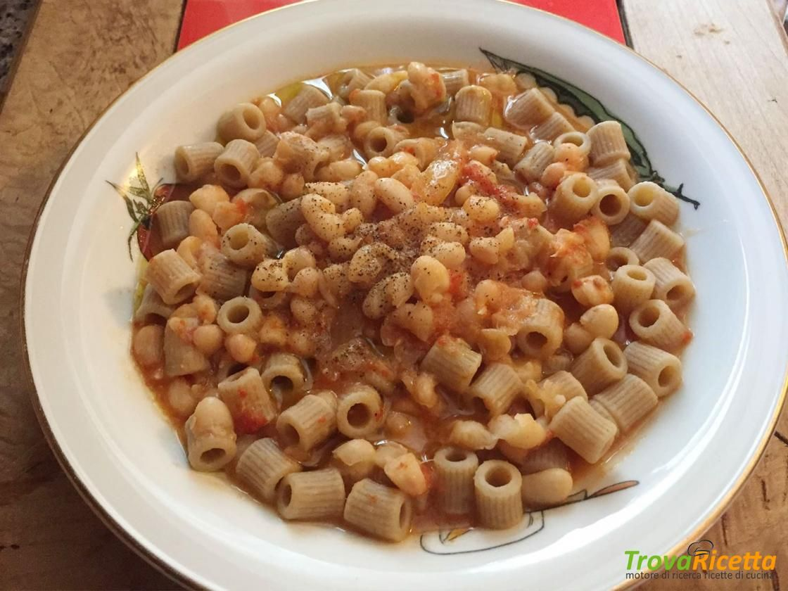 Pasta e fagioli cannellini  #ricette #food #recipes