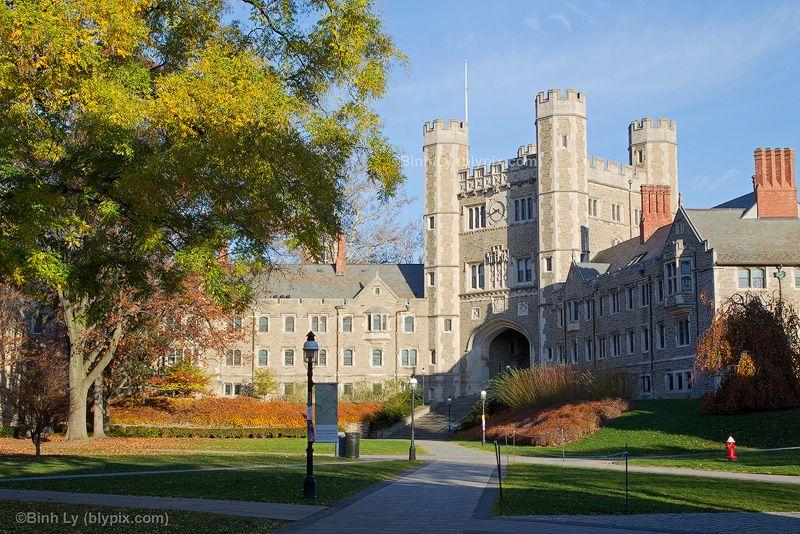 Princeton University  Collegiate Gothic Style Architecture