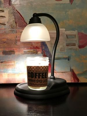 Candle Warmer   Black Aurora Lamp