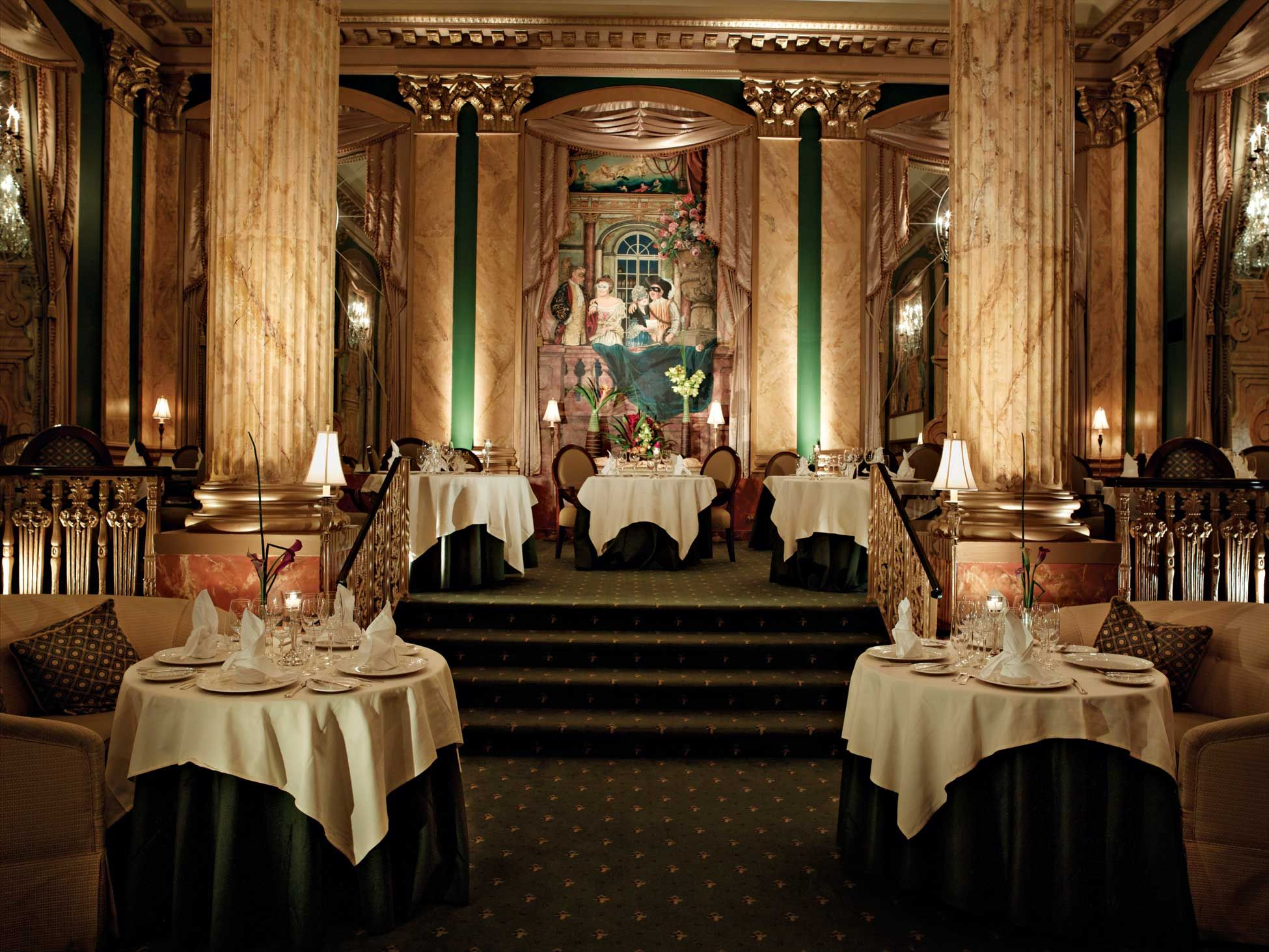 Chez Philippe The Peabody Memphis Signature Dining Room Forbes Four Star And Aaa Diamond Award Winning French Restaurant