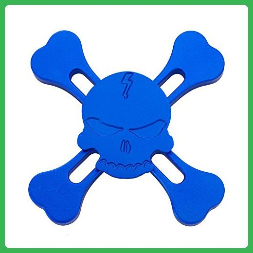 Skull four sides hand spinner fid EDC Focus Toy Stress Reducer
