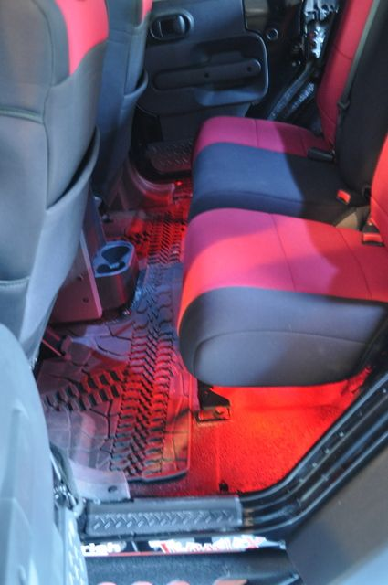 Adding Colored Interior Lights Jeep Wrangler Interior Jeep