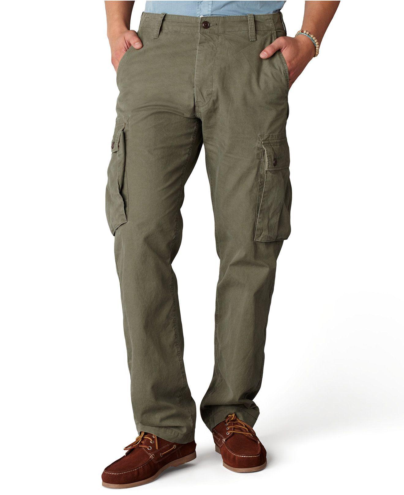 Dockers Pants, Bellowed Pocket Cargo Pants Men Macy