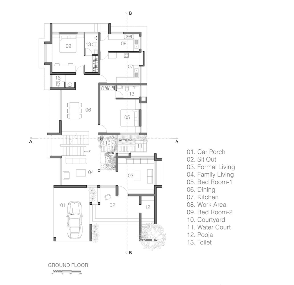 Gallery Of Manjadi House Of The Bead Tree No Architects Designers And Social Artists 20 In 2020 House Architecture Design House Floor Plans Tropical Living