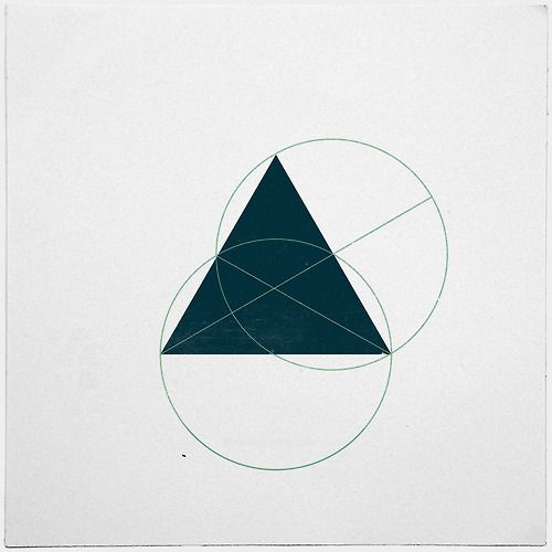 #362 Hidden truths – A new minimal geometric composition each day