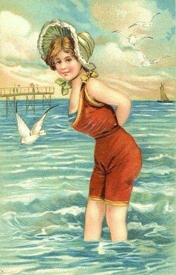 ретро открытки винтаж лето подходит для