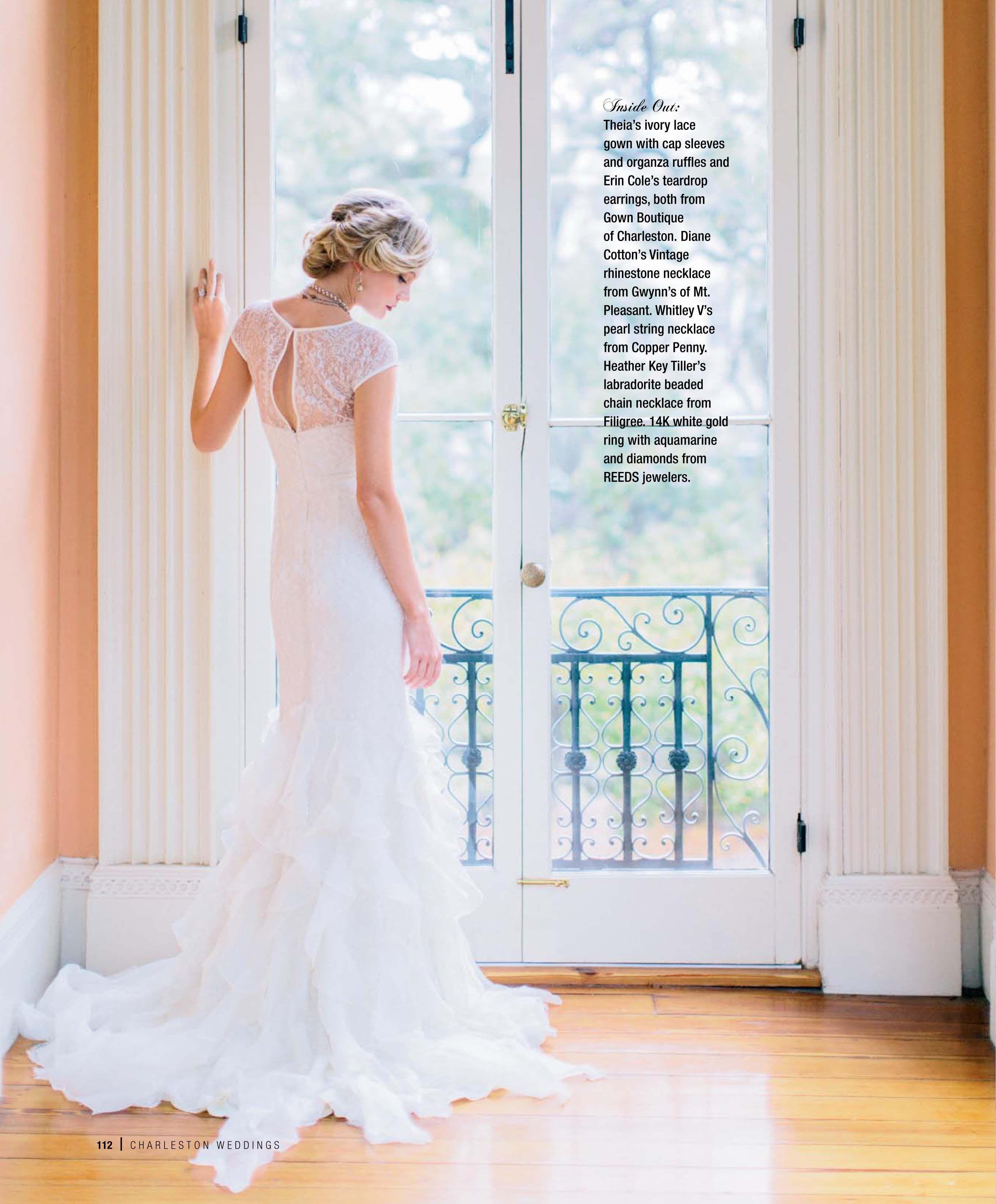 Theia wedding dresses  THEIA featured in CharlestonWeddings  weddings  Pinterest  Lace