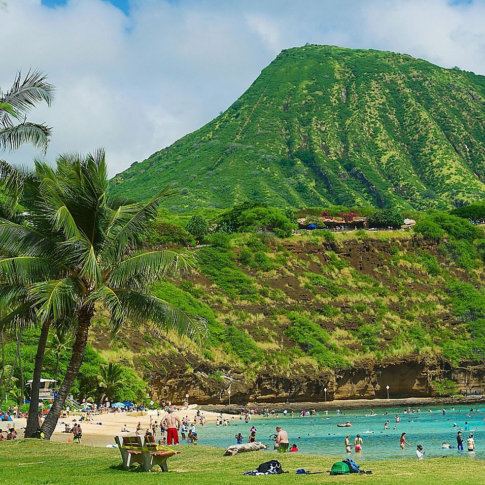 Oahu HawaII Triple Play Tour By Vebo - Take in the ethereal beauty and breathtaking coastline you'll see on the Oahu Hawaii Triple Play Tour. Perfect for a duo of explorers, this tour features a moderate hike that ascends to the top of Diamond head via a series of switchbacks.