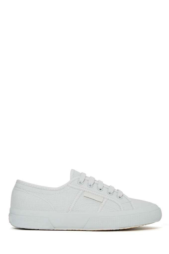 Superga Cotu Sneaker Light Gray | Shop Sale at Nasty Gal