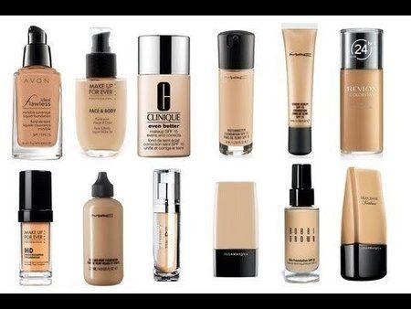 THE BEST LIQUID FOUNDATIONS - EVER!!!! #Video #YOUTUBE