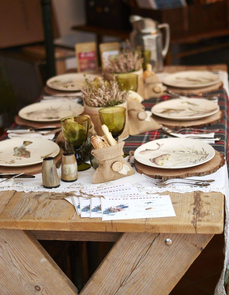 Foto @Angel Touron y decoración mesa Navidad @Terrón de azúcar