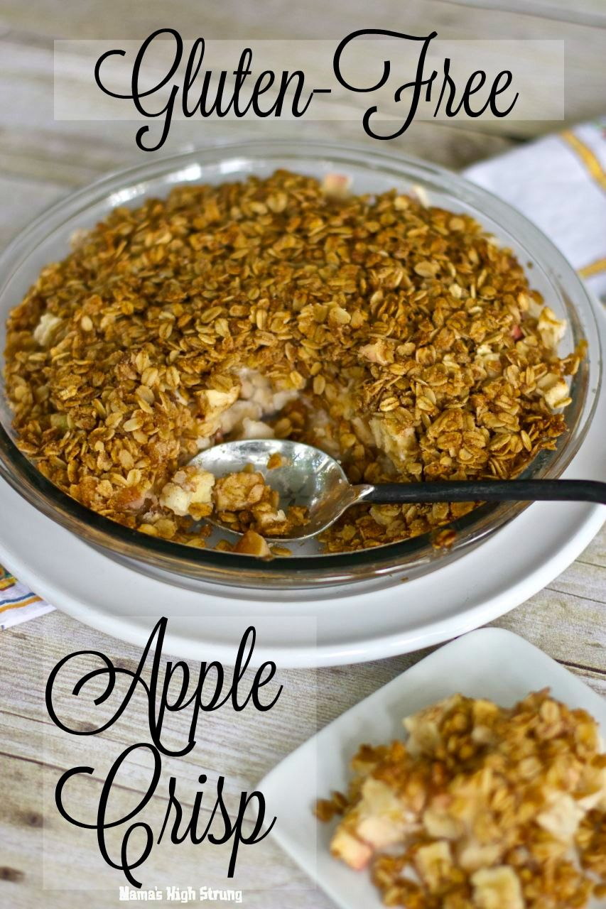 What's the difference between a crisp and a crumble? Both have baked fruit under a streusel-like blanket. Here's my take on a Gluten-Free Apple Crisp.