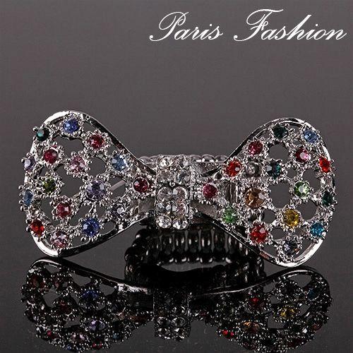Anillo XL en forma de lazo con piedras de colores. Tamaño: ajustable. #tiendaonline #joyas #bisutería #anillos