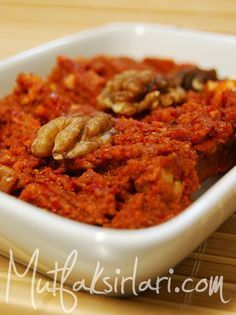 Acıka – Acuka Tarifi   Mutfak Sırları - Yemek Tarifleri