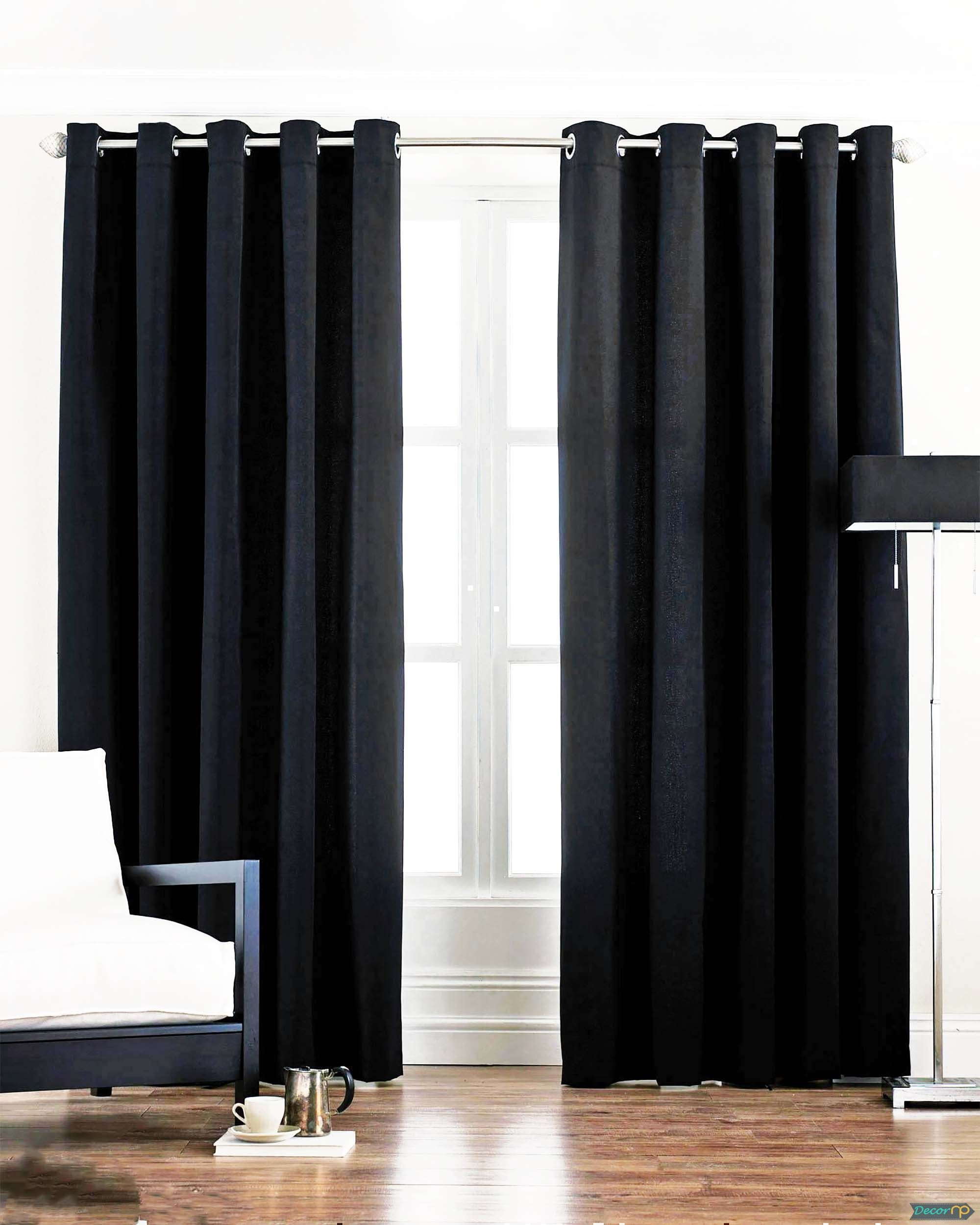 30+ Very Stylish Living Room Curtain Models | DecorNP