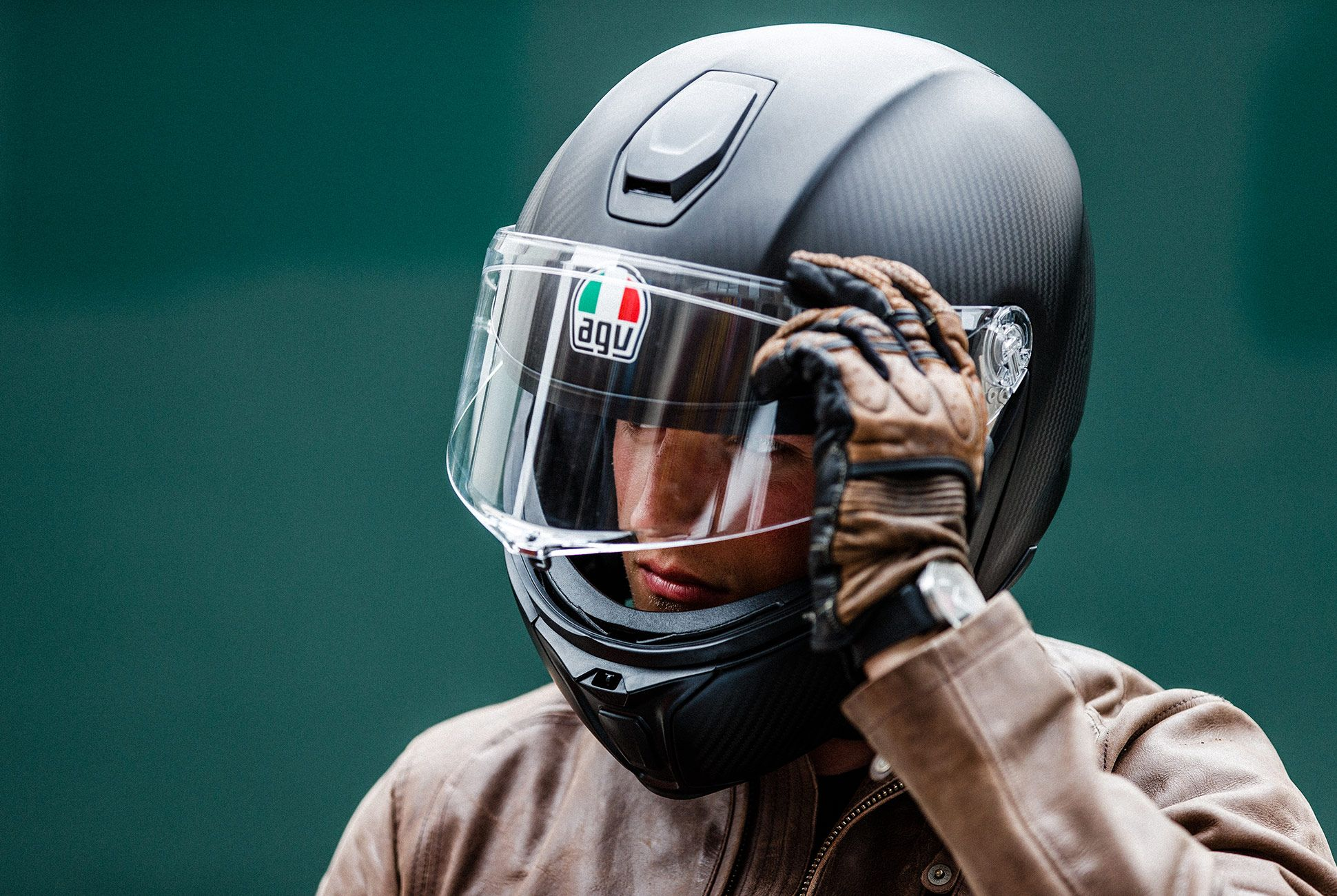 AGV Sportmodular Carbon Helmet Review In a Class of Its