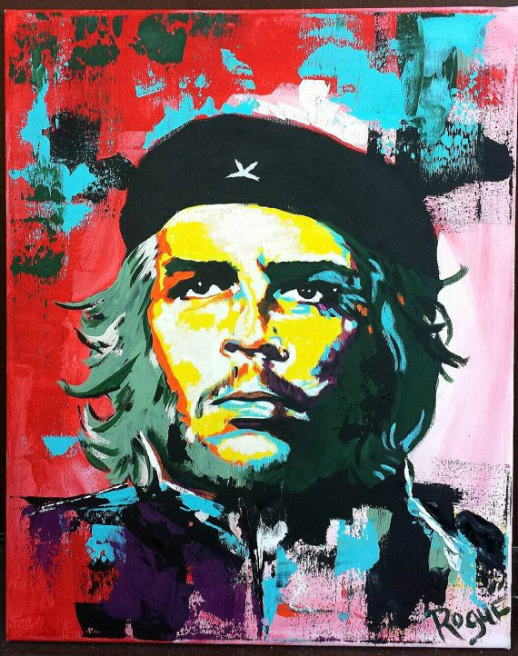 Image result for abstract paintings on che