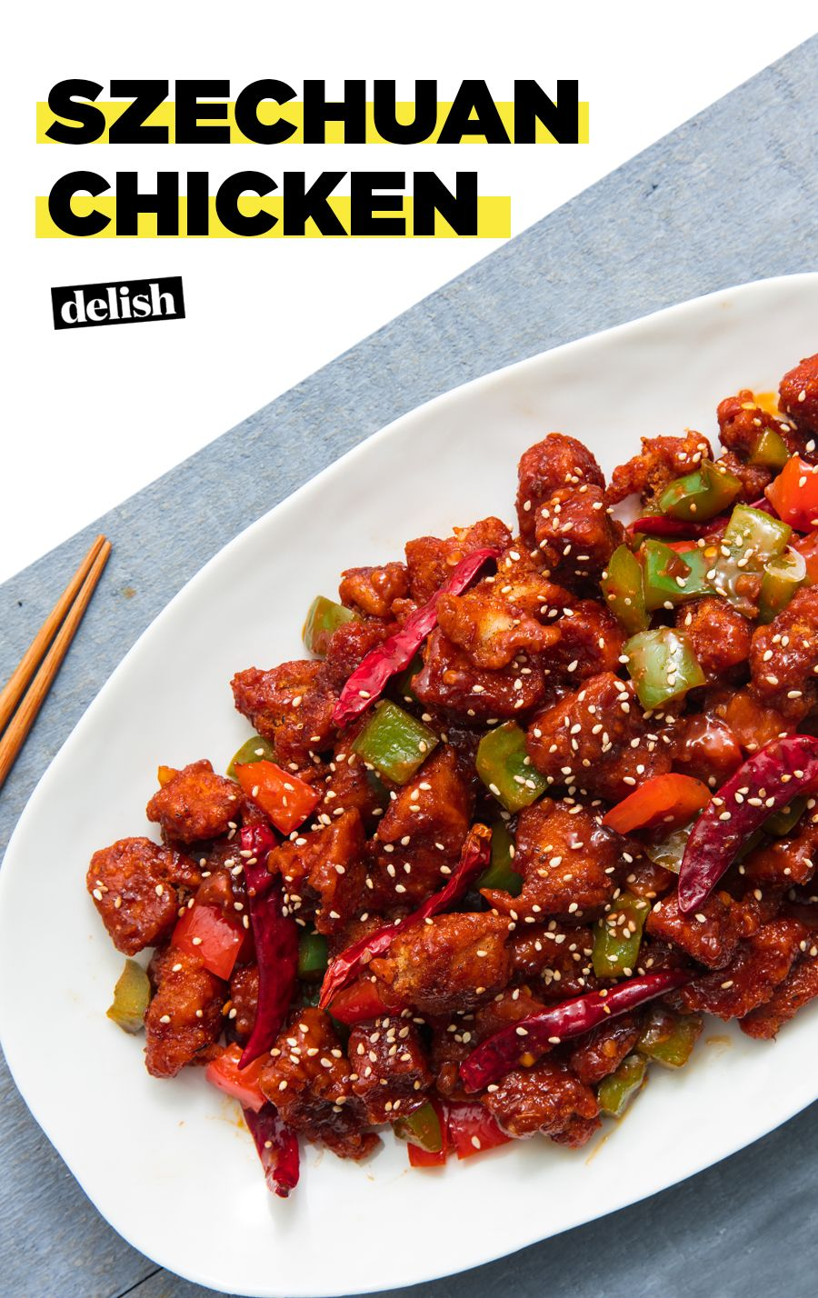 Warning This Szechuan Chicken Is Extra Hot Recipe Szechuan Chicken Recipes Chicken Recipes