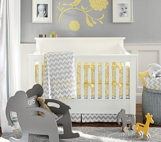 Larkin Fixed Gate 4 In 1 Crib | Pottery Barn Kids  Larkin Crib