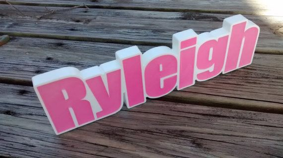 Personalized Names Desk Name Plate Custom by SignaturesSignsShape